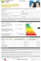 Certificado de Desempenho Energético e da Qualidade do Ar Interior